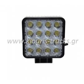 375-ΠΡΟΒΟΛΕΑΣ LED 48W 10-30V 11X11CM